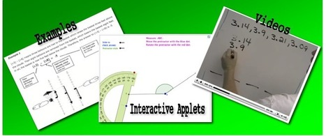 Interactive applets, video tutorials, and examples | MathVillage | 21st Century Concepts Math | Scoop.it
