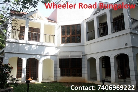 Incredible Bungalow for sale – Wheelers Road, Central Bangalore. | Bricks to Bliss | www.brickstobliss.com | Scoop.it
