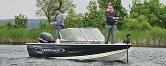 Crestliner 1650 Super Hawk | Aluminum Fish and Ski Boats for Waterski, Wakeboard, Tubing and Fishing | Deep-V | Aluminum Boat Guide | Scoop.it