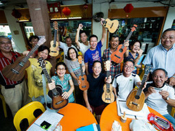 'Live' ukulele music at a coffee shop - inSing.com News | Uke tunes | Scoop.it