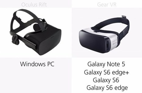 Oculus Rift vs. Samsung Gear VR | 3D Virtual-Real Worlds: Ed Tech | Scoop.it