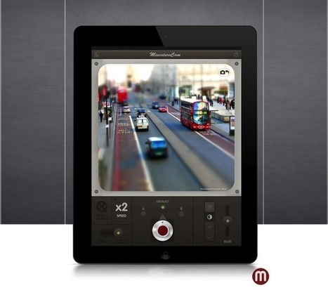 MiniatureCam, An Amazingly Polished Tilt-Shift App For The iPad. Yes: iPad [Review] | Cult of Mac | iPad learning | Scoop.it