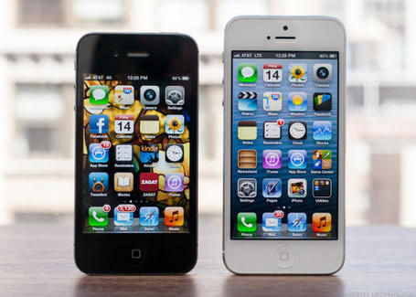 Differences Between The iPhone 5 And 4S | Tech Buzz | Scoop.it