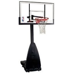 """Portable Basketball Systems Reviews - Spalding 54"""" Portable Basketball System 