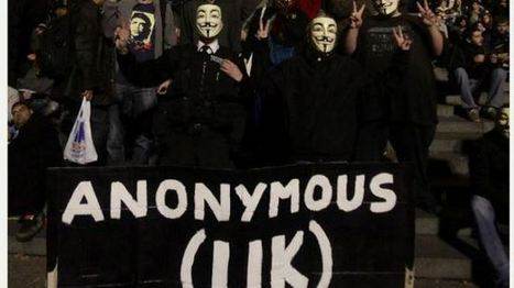Anonymous UK begins protest against GCHQ's mass spying - Press TV | Peer2Politics | Scoop.it