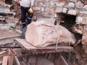 The Archaeology News Network: 2,500-year-old statue unearthed in Metropolis | HeritageDaily Archaeology News | Scoop.it