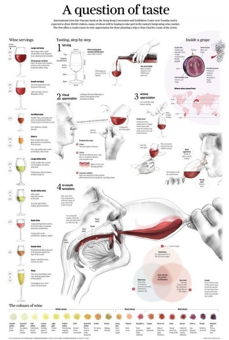 Wine: A question of taste | Le Vin en Grand - Vivez en Grand ! www.vinengrand.com | Scoop.it
