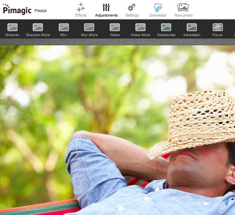 The Instant Web Image Editor: Pikock Pimagic | Web2.0 et langues | Scoop.it