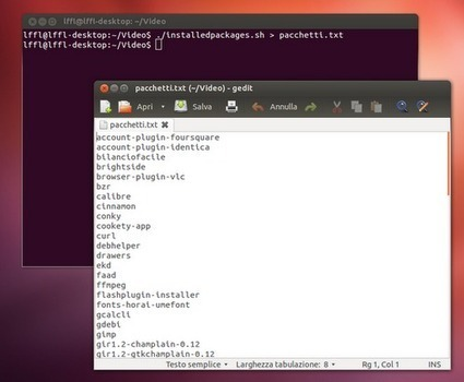 Ubuntu: la lista di tutti i pacchetti installati post-installazione | The Linux Commander | Scoop.it