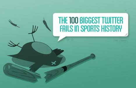 The 100 Biggest Twitter Fails in Sports History   Sportsmarketing   Scoop.it
