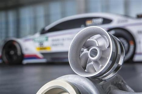 3ders.org - BMW turns to 3D printing to create water pump wheel for DTM race cars   3D Printer News & 3D Printing News   Metal additive manufacturing   Scoop.it