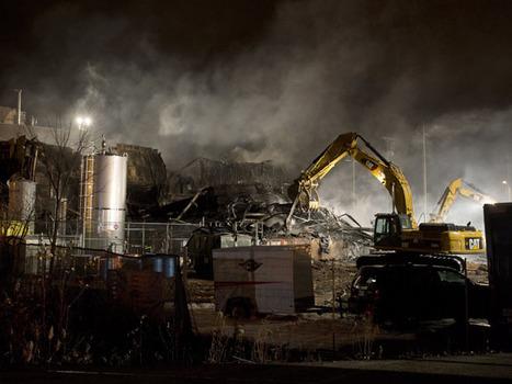 Explosion, fire at Quebec plant kill two, 19 sent to hospital (with video) | Hazardous Materials | HazMatIQ | Hazardous Materials Emergency Response and Training | Scoop.it