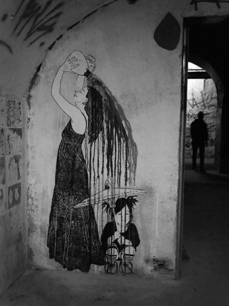 Street art en Madrid. El sótano de La Tabacalera | Ni me va, ni me viene | World of Street & Outdoor Arts | Scoop.it