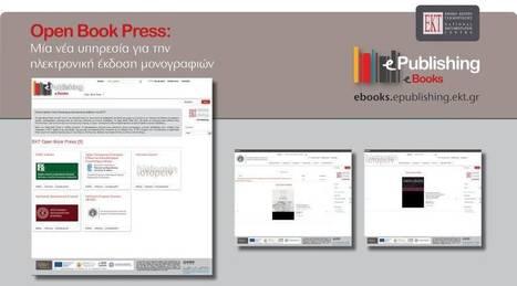 Νέα υπηρεσία Open Book Press από το ΕΚΤ για ηλεκτρονικά βιβλία ανοικτής πρόσβασης | Wiki_Universe | Scoop.it