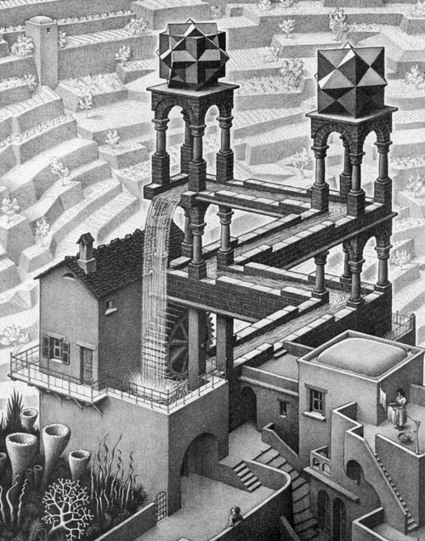 "The Mathematical Art of M.C. Escher ☞ (D. R. Hofstadter on Escher's drawings, ""Inspirations"" - a short movie by C. Vila) 