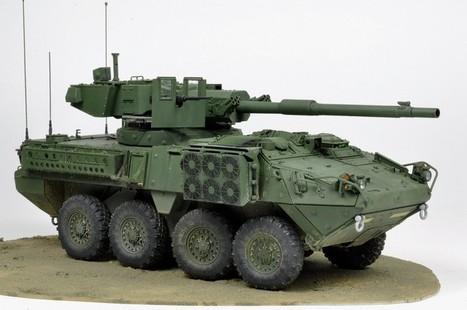 Stryker M1128 MGS | Francois' Scale Modeling Gazette | Scoop.it