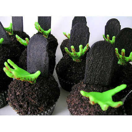 Zombie Cupcakes | Oz Horror Con | Scoop.it