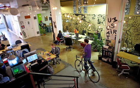 Solo Workers Bond at Shared Workspaces | Shared Space, Shared Resources, Strong Communities | Scoop.it