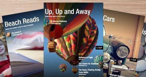 Flipboard incorpora la posibilidad de crear y compartir revistas personalizadas | FORMACIÓN IES ISLA DEVA | Scoop.it