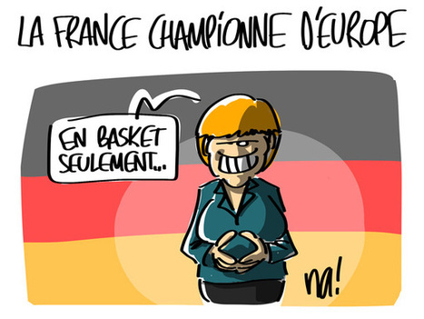 La France championne d'Europe | Baie d'humour | Scoop.it