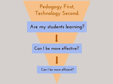 Think Pedagogy First, Technology Second | Constant Learning | Scoop.it