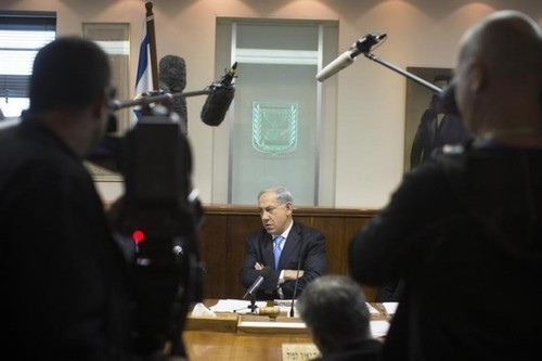 Netanyahu: World Powers Must Demand #Iran Change ' #Genocidal ' Anti-Israel Policy