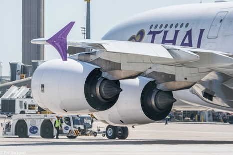 Photo: A Thai Airbus A380 in Paris | Aviation & Airliners | Scoop.it