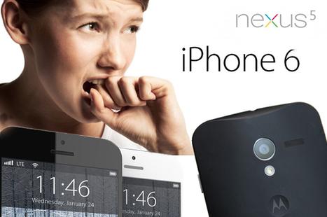 ¿Qué podemos esperar del iPhone 6, el Nexus 5 y el Moto X? | Technology, Books and News. | Scoop.it
