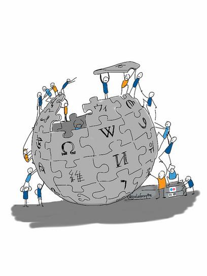 Les articles de l'encyclopédie Wikipedia écrits par les bibliothécaires | Cultures & Médias | Scoop.it
