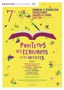 Printemps des écrivains et des artistes | Enghien-les-Bains | Historic Thermal Cities Villes Thermales Historiques | Scoop.it