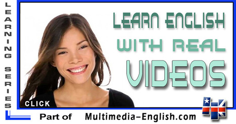 Learn English with videos | Listening activities for English language learners | Scoop.it