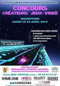 Concours des Créateurs de Jeux vidéo : Trophée FLIP 2014 | Web et HighTech | Scoop.it