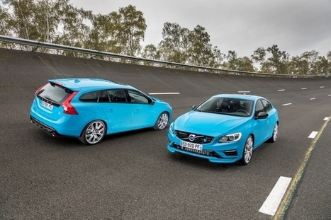 Volvo lance enfin les S60 et V60 Polestar en France   Volvo Polestar & Team Cyan   Scoop.it