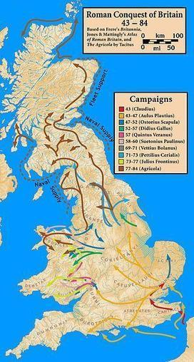 Twitter / Angleterre_Eng: The Roman conquest of Britain ... | Roman Britain | Scoop.it