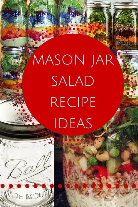 Layered Mason Jar Salad Ideas   Best Easy Recipes   Scoop.it