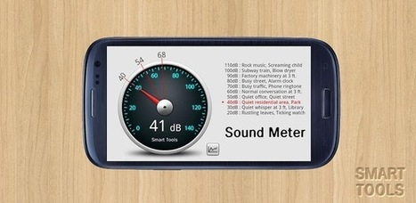 Sonomètre - Sound Meter - Applications Android sur GooglePlay | Android Apps | Scoop.it