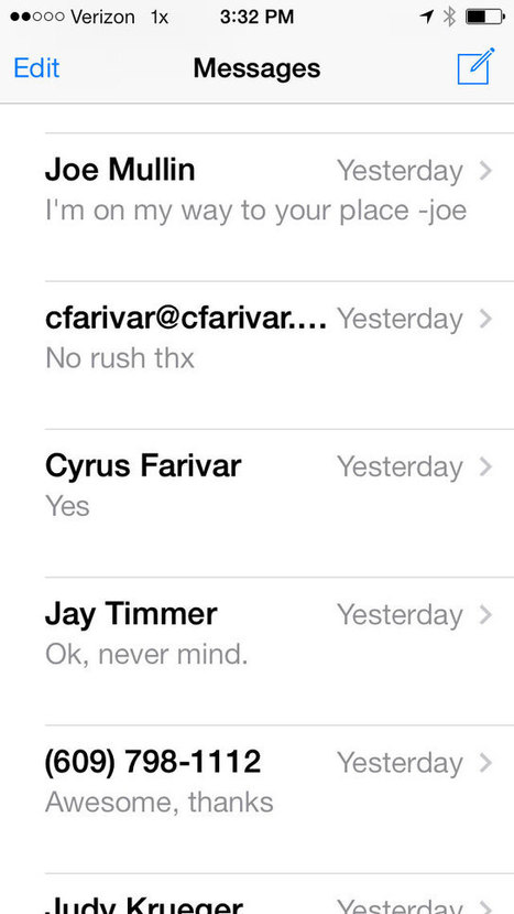 Contrary to public claims, Apple can read your iMessages | PR and The Tech World | Scoop.it