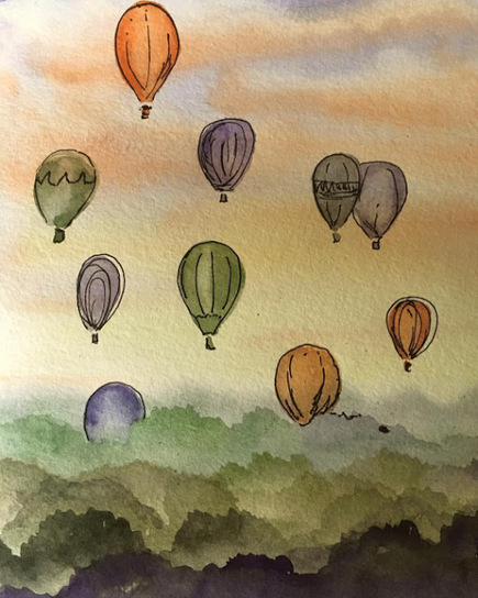Up, Up An Away In Jenny's Beautiful Balloon   Outsider Poetry   Scoop.it