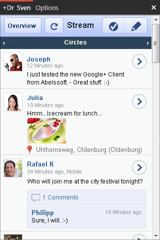 GClient - Free desktop client for Google+ (GooglePlus for Windows). | The Google+ Project | Scoop.it