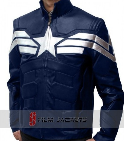 The Winter Soldier Captain America Jacket | Avengers Chris Evans Leather Jacket | House of outfits | Scoop.it