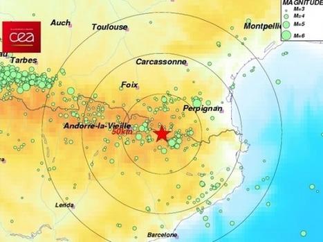 Trois nouveaux séismes ressentis dans les Pyrénées-Orientales et ... - Francetv info | Chronique d'un pays où il ne se passe rien... ou presque ! | Scoop.it