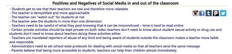 Can teenagers learn social media responsibility from teachers? | Vakdidactiek Master | Scoop.it