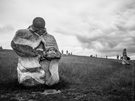 balade photo en Finistère, Bretagne et...: la Vallée des Saints à Carnoët - en noir et blanc (12 photos) | photo en Bretagne - Finistère | Scoop.it