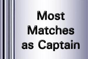 Maximum Test Matches played as Captain   ICC World Twenty20   Scoop.it