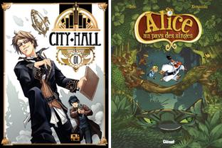 «Alice au pays des singes» et «City Hall», prix DLire-Canal BD 2012 | Veille sur la bande dessinée pour tous | Scoop.it
