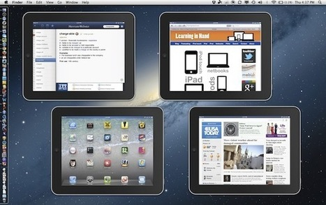 AirPlay Mirroring to a Mac (no Apple TV required) | iPads in Ed | Scoop.it