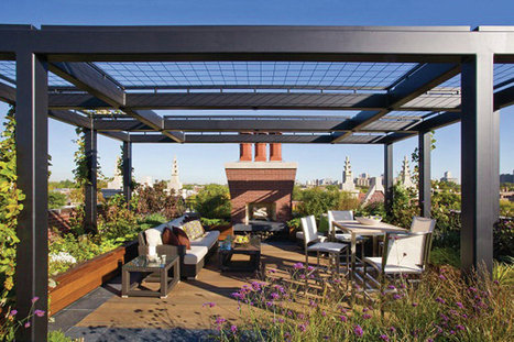 Successful Rooftop Transformation in Chicago | green streets | Scoop.it