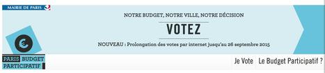 Vous pouvez encore VOTER, dépêchez-vous ! #NotreBudget #J-6 | actions de concertation citoyenne | Scoop.it