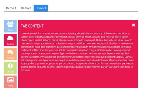 15 Best HTML5 CSS3 Accordion Tabs | HTML5, CSS3, JS | Scoop.it