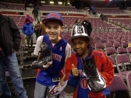 A Young Boy's Act of Kindness Makes Piston Game Unforgettable For Another | StonesDetroit.com | Scoop.it